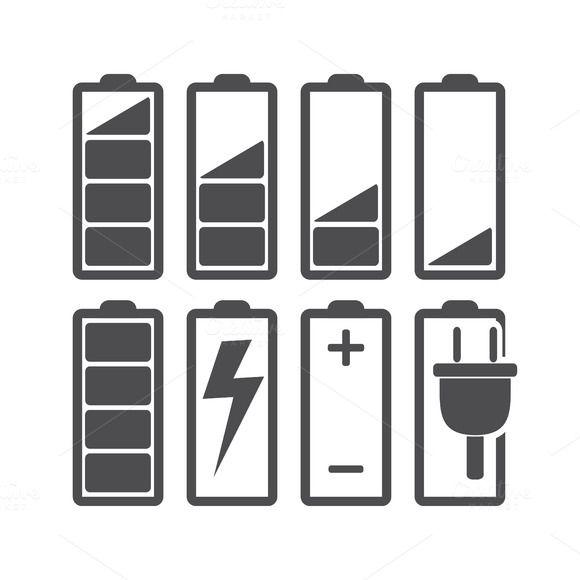 Battery by Oleksii on @creativemarket