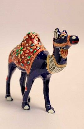 Multi Color Ceramic Camel