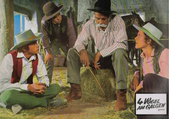 "Tres forajidos y un pistolero (1974) ""The Spikes Gang"" - Reparto Lee Marvin, Gary Grimes, Ron Howard, Charles Martin Smith, Arthur Hunnicutt, Noah Beery Jr. Pin enviado desde"