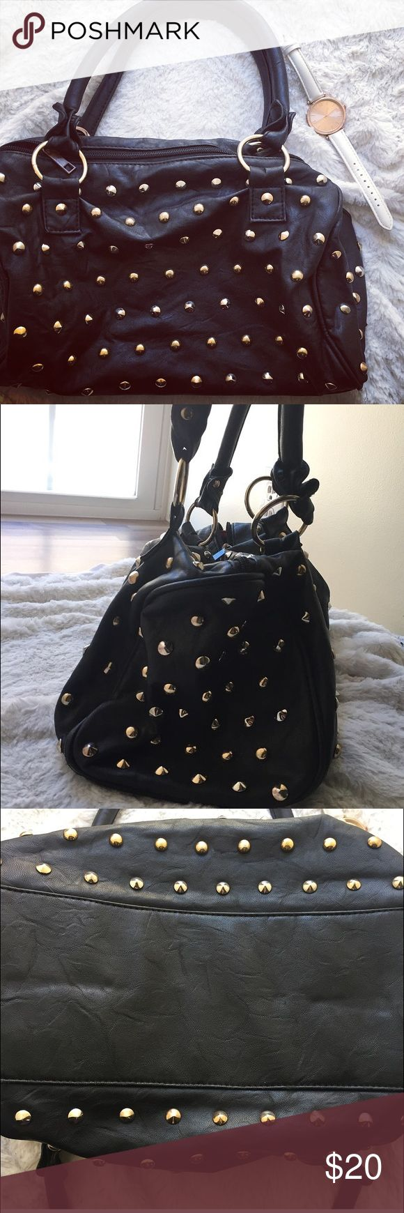 Large Studded Bag. Preloved, but only can tell by the