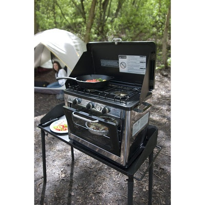Camp Chef Camping Outdoor Oven with 2 Burner Camping Stove Prepping Tool » The Homestead Survival