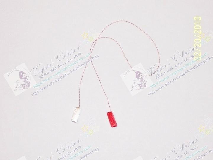 "Martishor cord Amulet "" Little Tubes"" / Snur de Martisor ""Tubulete"""