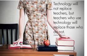 """Estoy en parte de acuerdo con la frase: pienso y espero que la tecnología no sustituya nunca la figura del profesor. Eso sí, 100% que los profesores que usamos la tecnología somos más """"molones"""" que los que no! ;)"""