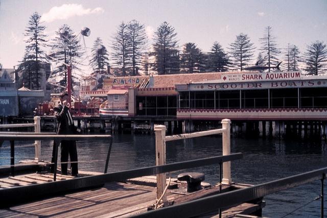 Manly fun pier, Sydney, NSW by RobethK, via Flickr