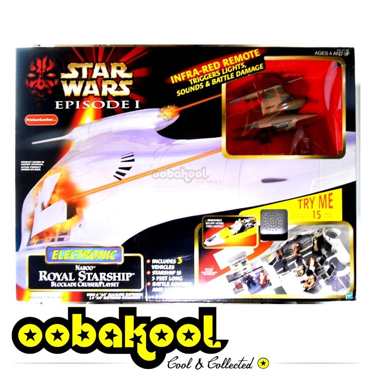 BOOM! STAR WARS / NABOO... just landed in our store! Check it out here http://oobakool.co.za/products/naboo-royal-starship-episode-1-1999-hasbro?utm_campaign=social_autopilot&utm_source=pin&utm_medium=pin #OobaKool #StarWars #Collectible