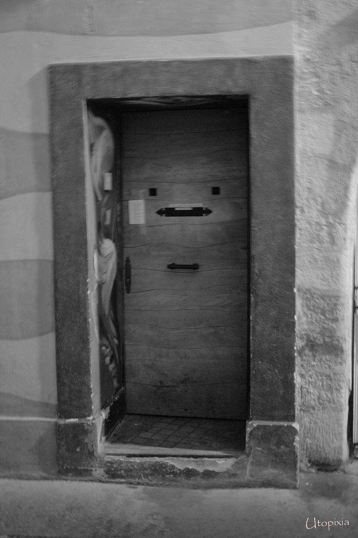 Un portait de porte!