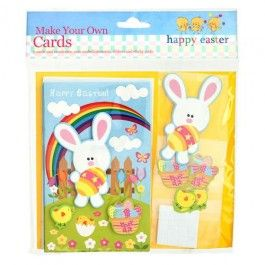 Each kit makes 5 cards. Browse our wide range of Easter decorations and crafts. #poundlandeaster