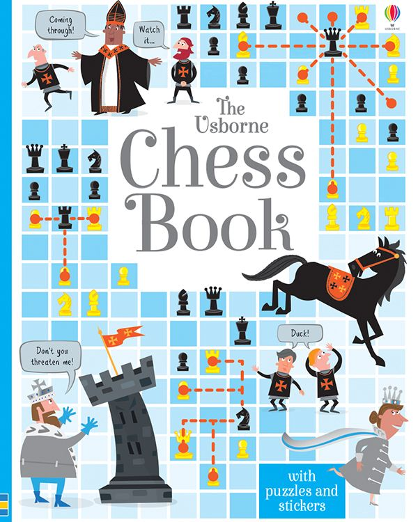 This fascinating activity book covers all the essentials of the game, helping children learn the basics and practice different strategies to become a master of the game! Age 7+
