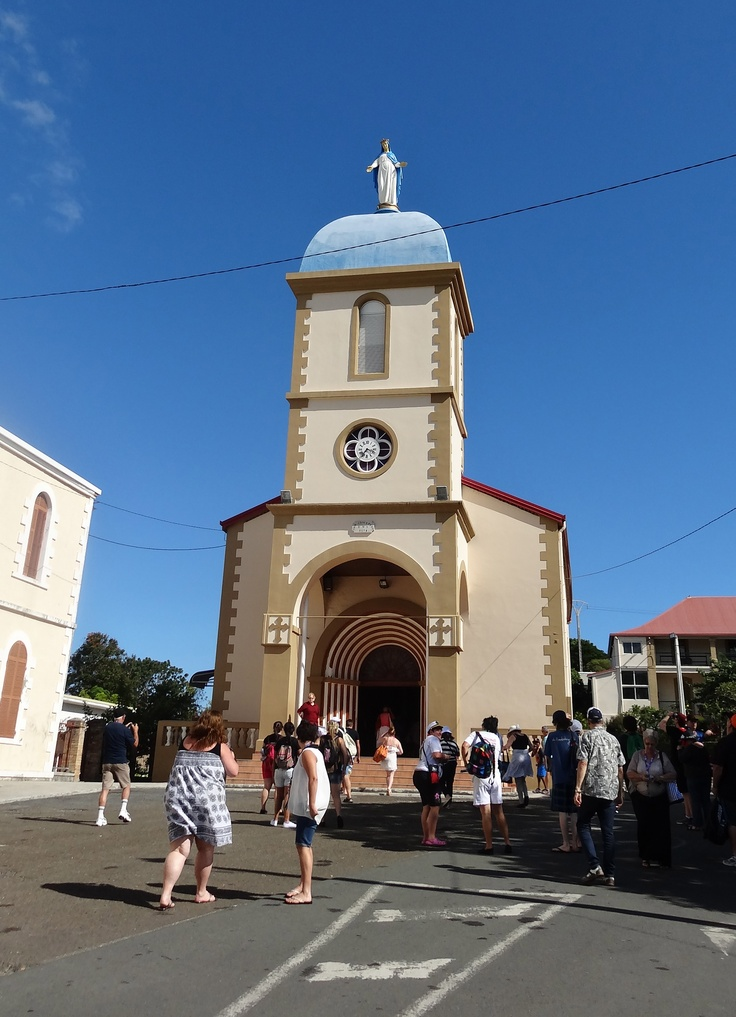 Noumea - church - have seen this church in person, beautiful!