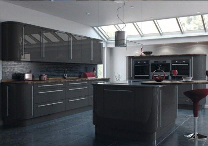 Best 25 cuisine gris anthracite ideas on pinterest - Couleur gris anthracite peinture ...