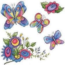 Resultado de imagen de mariposas en madera country