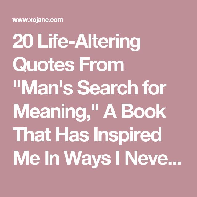 """man search for meaning essay questions Man's search for meaning wrote a psychoanalytic essay titled """"on the mimic movements of the affirmation and negation and man's search for ultimate meaning."""