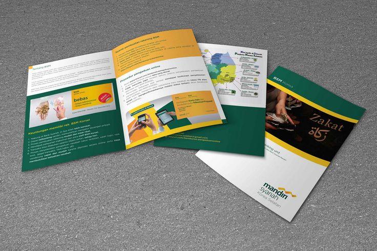 Desain Brosur PT. Bank Syariah Mandiri Korea Selatan oleh www.SimpleStudioOnline.com | Order desain brosur profesional >> WA : 0813-8650-8696