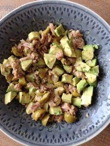 tonijn avocado olijven LR