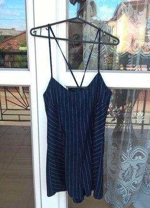 Kup mój przedmiot na #vintedpl http://www.vinted.pl/damska-odziez/krotkie-sukienki/16754175-kombinezon-marki-pullbear-granatowy-m-idealny-na-walentynki
