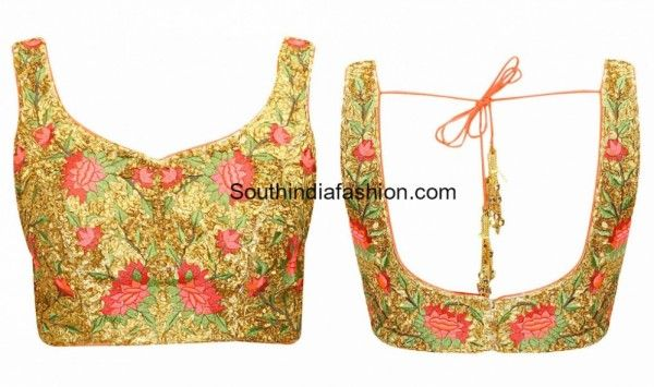 floral_embroidered_blouse_designs