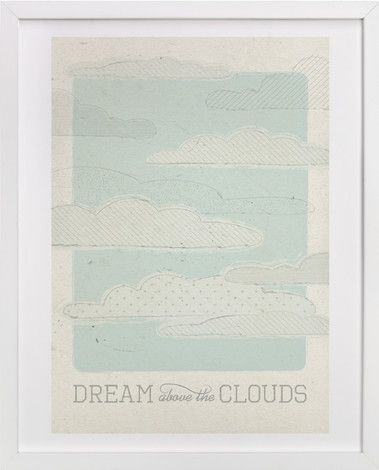 Above the Clouds by Bleu Collar Paperie at minted.com