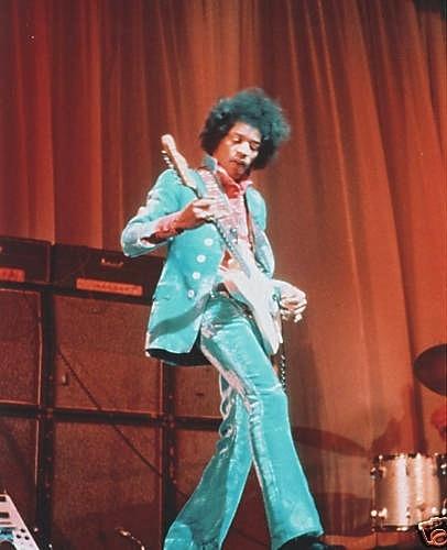 Jimi Hendrix - Paris, France 1967