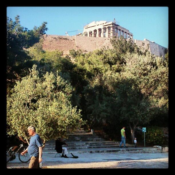 #Athens #Parthenon #Aeropagitou #Acropolis #Greece