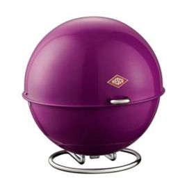 Click here to see more images of the Wesco Superball bread bin - purple