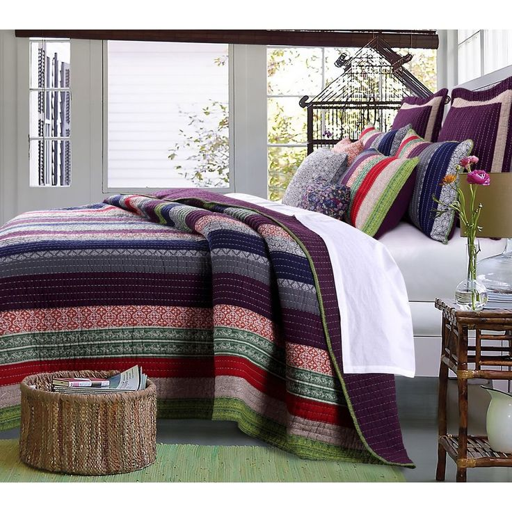 Greenland Home Fashions Marley Oversized Cotton 3 piece