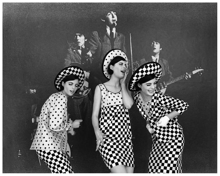 Photo Jerry Schatzberg - The Dees Triplets, New York, 1964