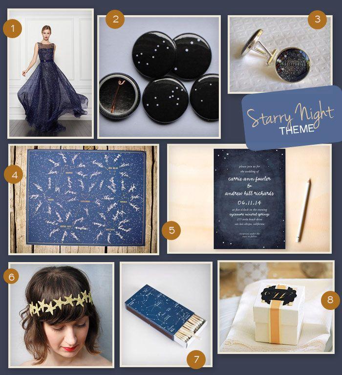 Wedding Theme: Starry Night | Wedding Tips & Trends - Bridal Blog