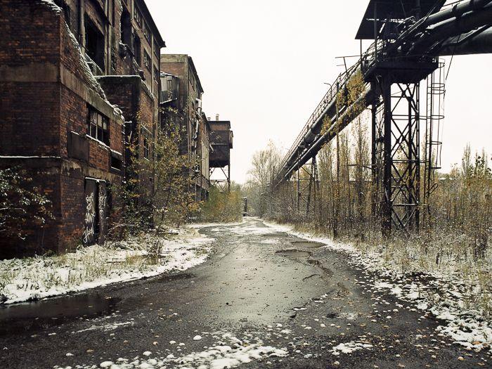 Abandoned sintering plant, Czech Republic.