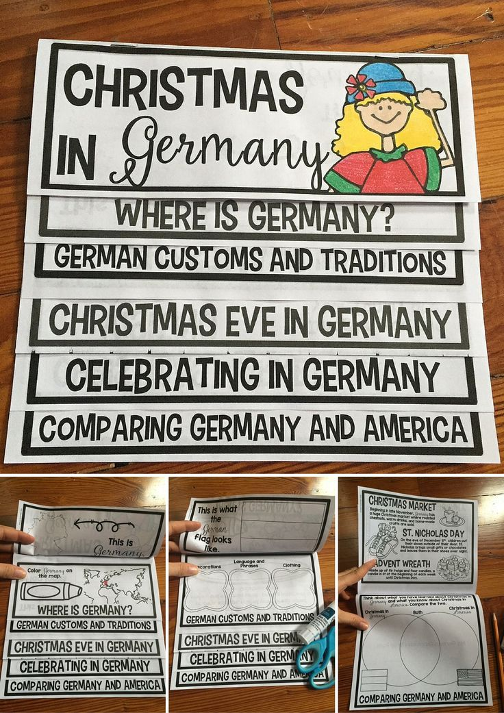 Christmas in Germany activity that students LOVE