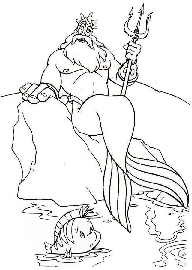 Pin By Pengadaan Indonesia On King Triton Coloring Pages Coloring Pages Mermaid Coloring Pages Coloring Pages For Kids
