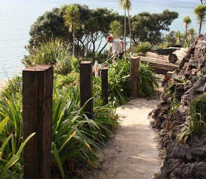 new zealand garden design driveway - Google Search