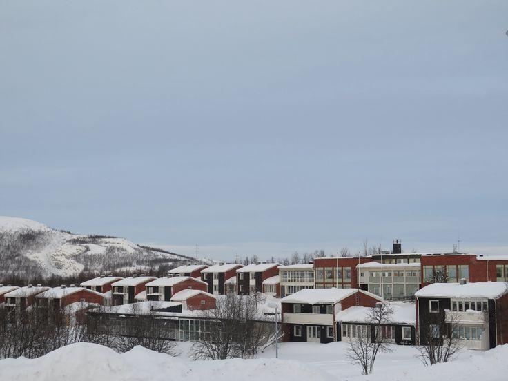 Kiruna pueblo