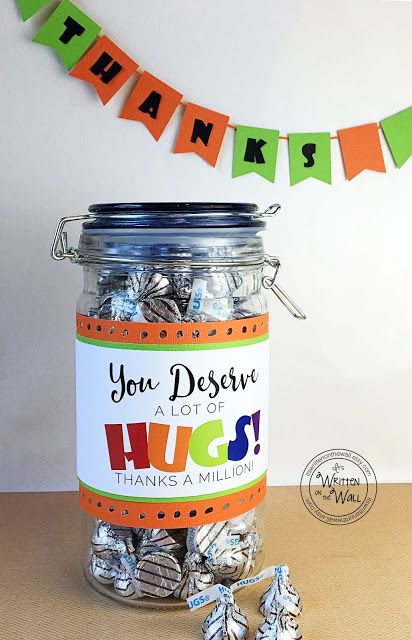 It's Written on the Wall: Fabulous Teacher Appreciation Gift Ideas | Tags, Labels and Fun Packaging Ideas