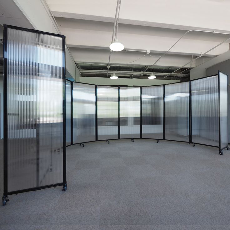 Let In The Light With A Clear Room Divider