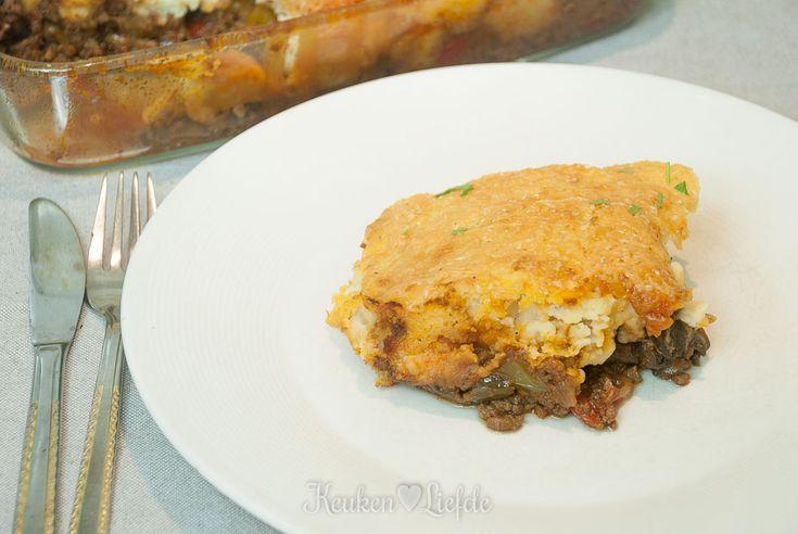 Een heerlijk gerecht geïnspireerd op de Hongaarse keuken: stroganoff-gehaktschotel!