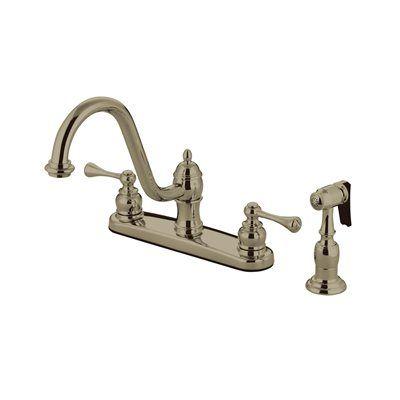 Elements of Design EB311 St. Louis Two Handle Kitchen Faucet
