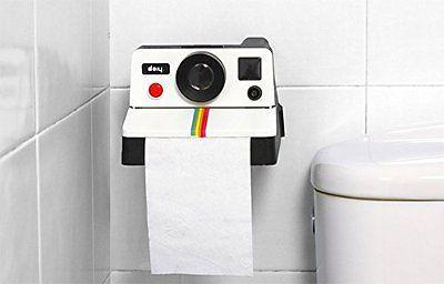 Rolo De Papel Higiênico polaroll titular Vintage Câmera Polaroid Para Casa Banheiro Presente