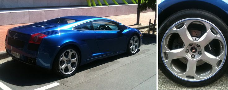 Shows how good RimPro-tec looks on a Lambo :)