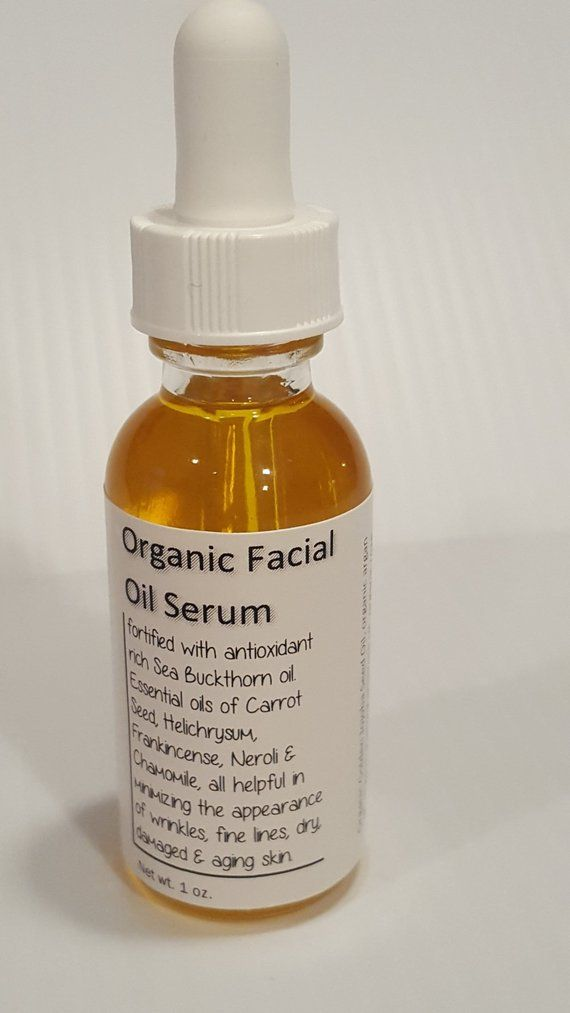 Anti Aging Skin Oil Organic Antioxidant Facial Serum Facial Oil