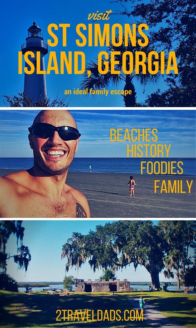 Visit St Simons Island in Georgia's Golden Isles for an ideal family getaway filled with beaches, history, Spanish moss and great food!