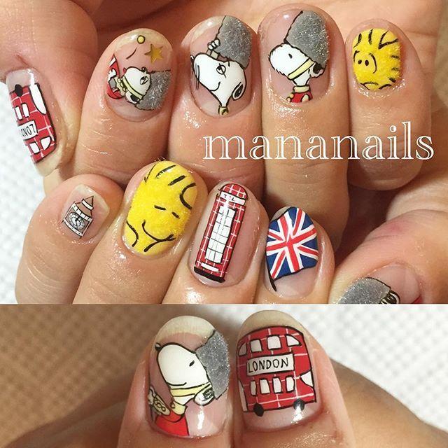 """Snoopy in London"""