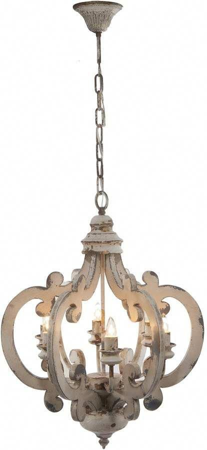 wooden hanging chandelier shabbychickitchen shabby chic in 2019 rh pinterest com