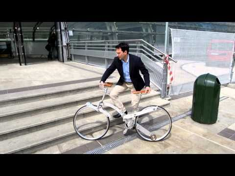 Sada Gianluca - Hubless Foldable Sada Bike - Eurobike > se pliega hasta ser como un paraguas!