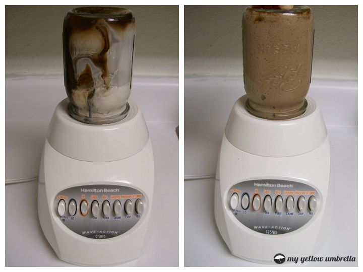 totally did this just now - and it works! goodbye magic bullet and all your clutter!