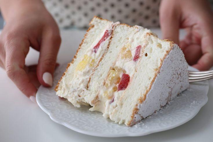 TROPICAL ANGEL CAKE