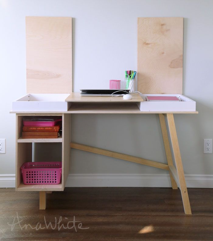 ana white build a grasshopper base for build your own study desk rh pinterest com