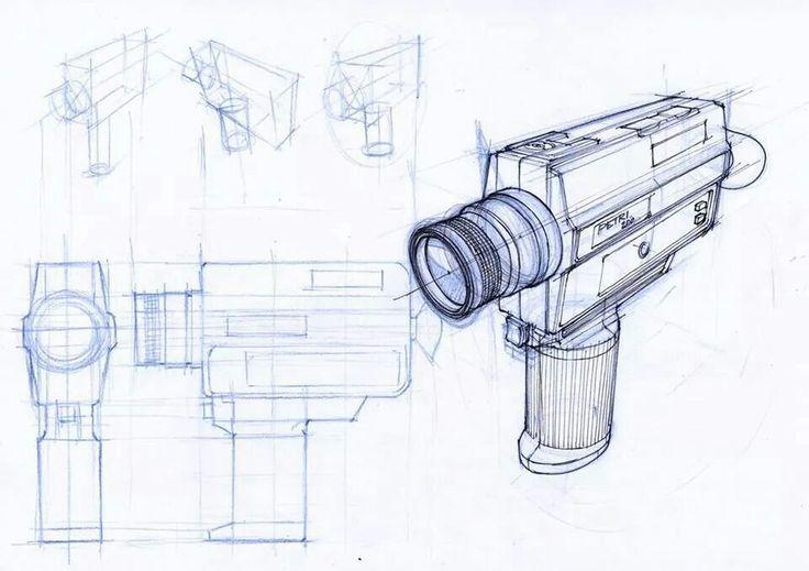 #camera #industrial #design #sketch
