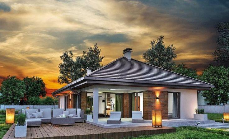 O casă pe un singur nivel cu garaj, ideală unei familii cu trei membri. Interiorul te va cuceri. – Case De Vis