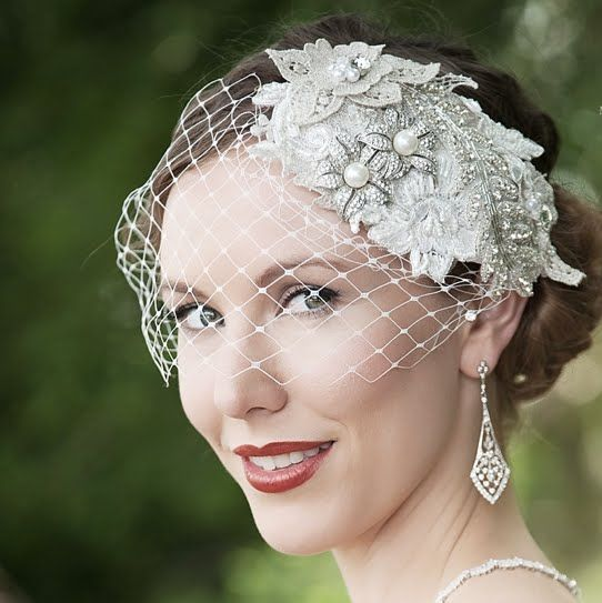 For the Bespoke bride. Janice with Bobbie veil. By Wendy Louise designs