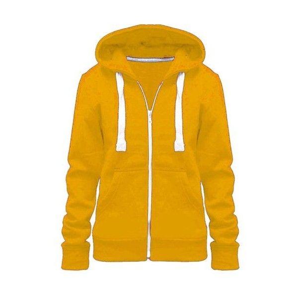 Ladies Girl WomensNEW PLUS SIZE Zip Up Sweatshirt Hooded Hoodie Coat... ($2.86) ❤ liked on Polyvore featuring tops, hoodies, plus size zip up hoodies, plus size zip up hoodie, plus size sweatshirts hoodies, hooded zip up sweatshirt and plus size tops